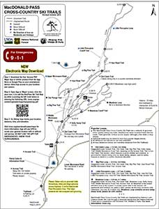 Mac Pass Trails Map